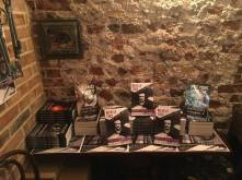 Copes of Poe Goes Punk at the UK Launch.